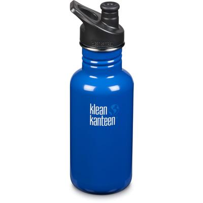 Klean Kanteen Classic 18oz Bottle With Sport Cap