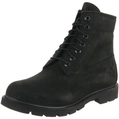 Timberland Basic Black 6 Inch Waterproof Boots Mens