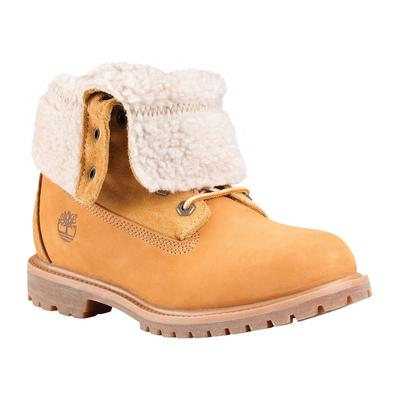 Timberland Authentic Waterproof Teddy Fleece Boot Womens