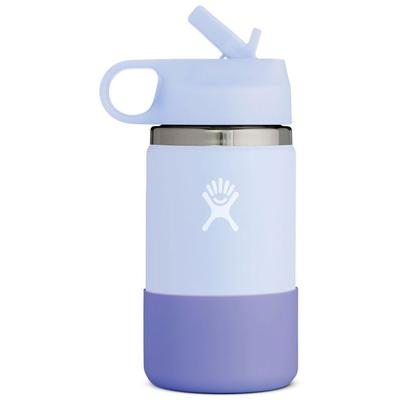 Hydro Flask 12 Oz. Wide Mouth Water Bottle With Straw Lid And Boot Kids'