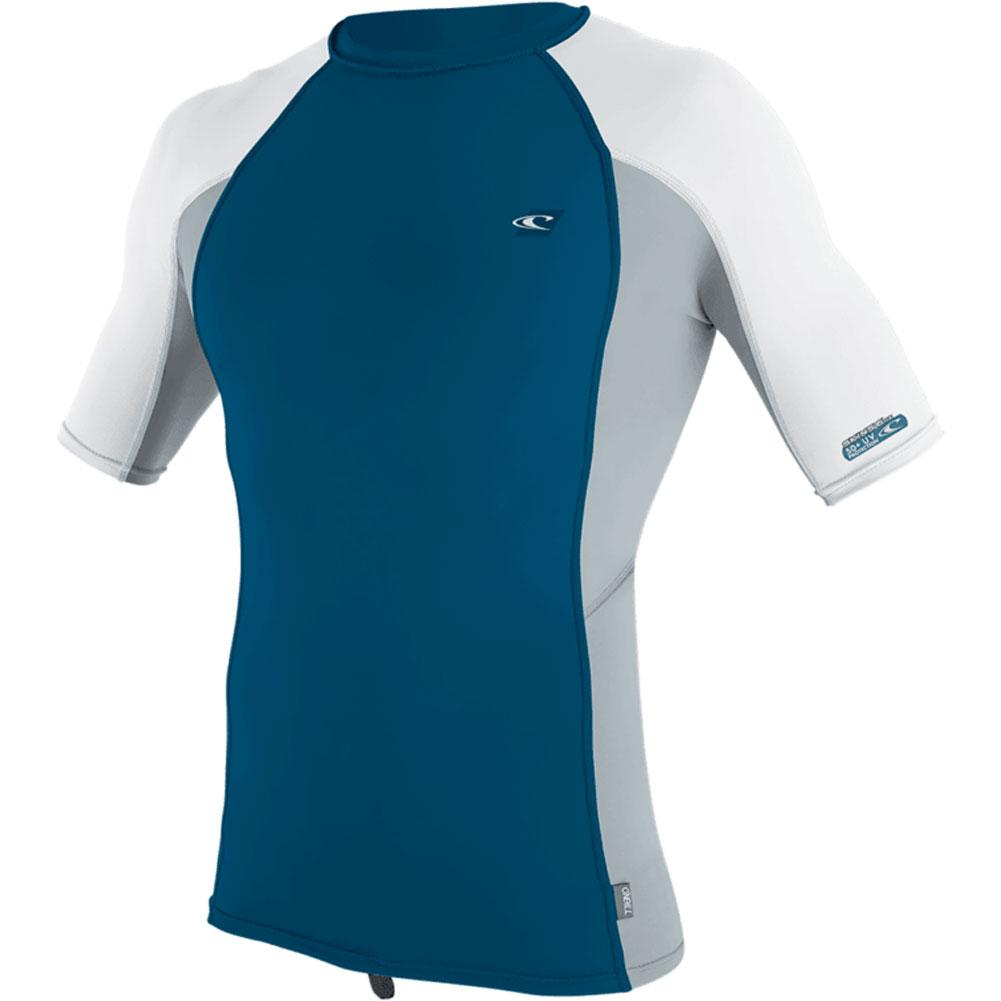 O ' Neill Premium Skins Short Sleeve Rash Guard Men's