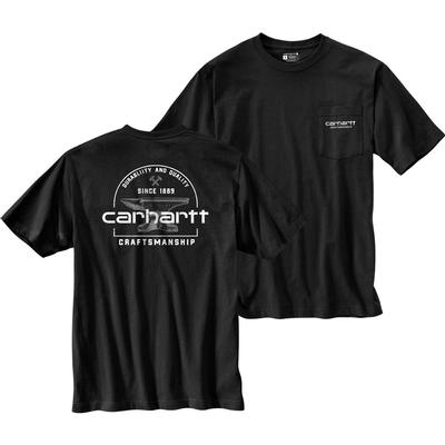 Carhartt Relaxed Fit Heavyweight Short-Sleeve Pocket Anvil Graphic T-Shirt Men's