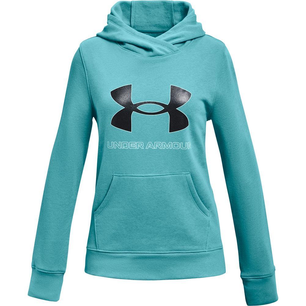 Under Armour Rival Fleece Logo Hoodie Girls '