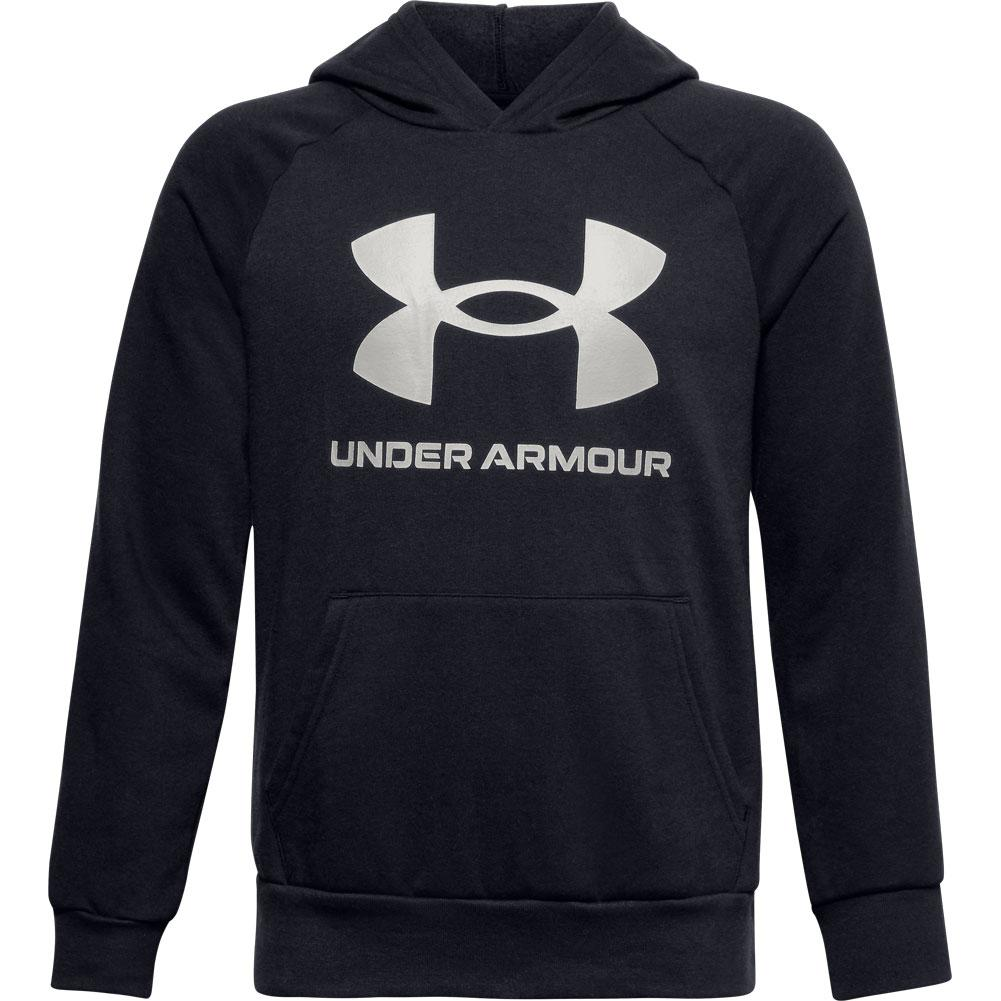 Under Armour Rival Fleece Big Logo Hoodie Boys '