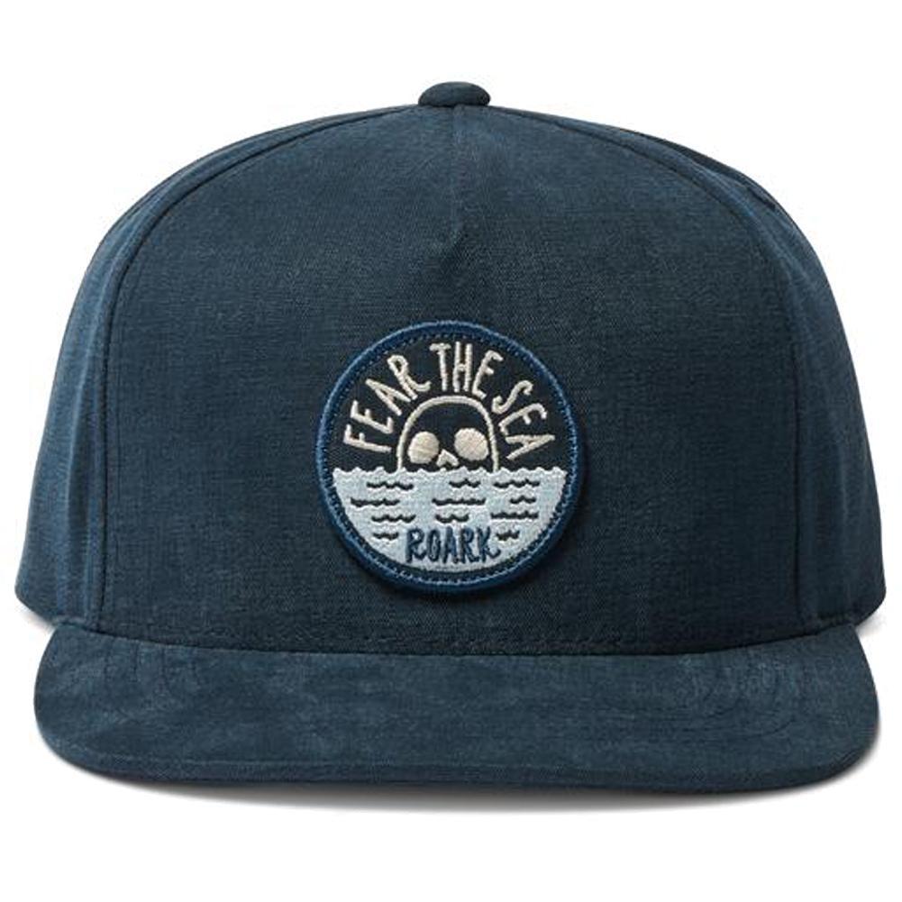 Roark Fear The Sea 5 Panel Strapback Hat Men's