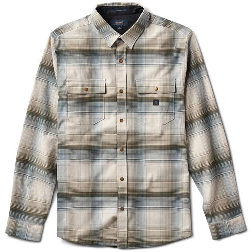 Roark Alpinist Long Sleeve Button Up Shirt Men's
