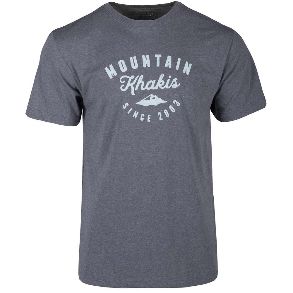 Mountain Khakis Logo Script T- Shirt Classic Fit Men's