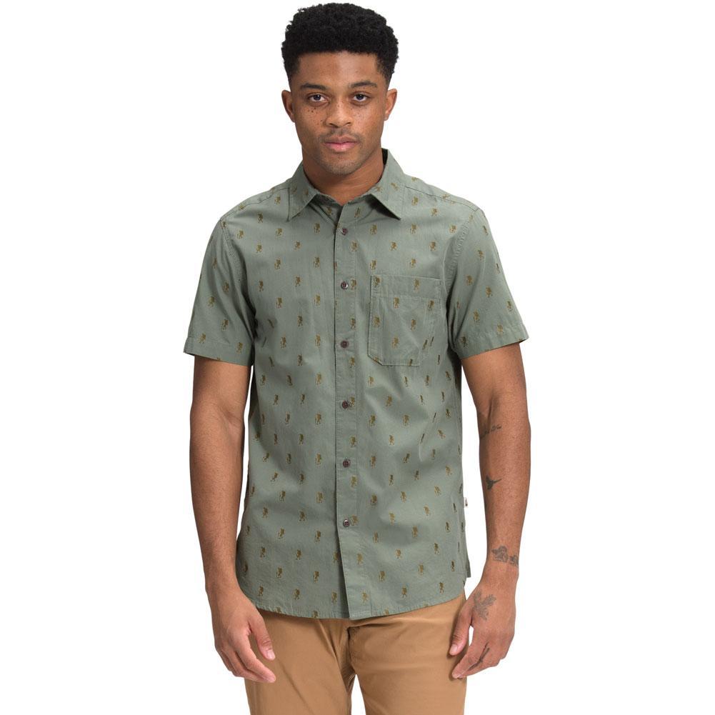 The North Face Baytrail Jacquard Short- Sleeve Shirt Men's