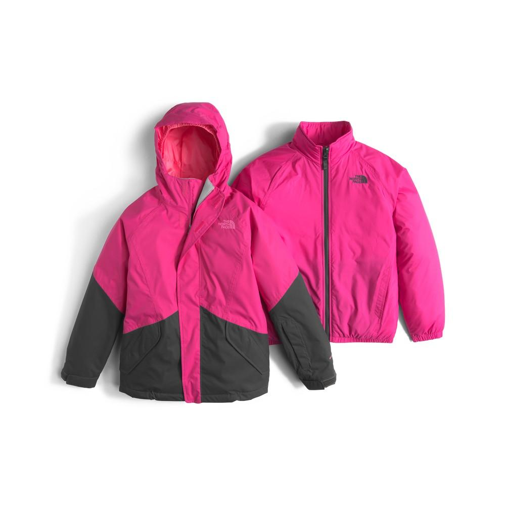 c04c611954c7 The North Face Kira Triclimate Jacket Girls  Cabaret Pink ...