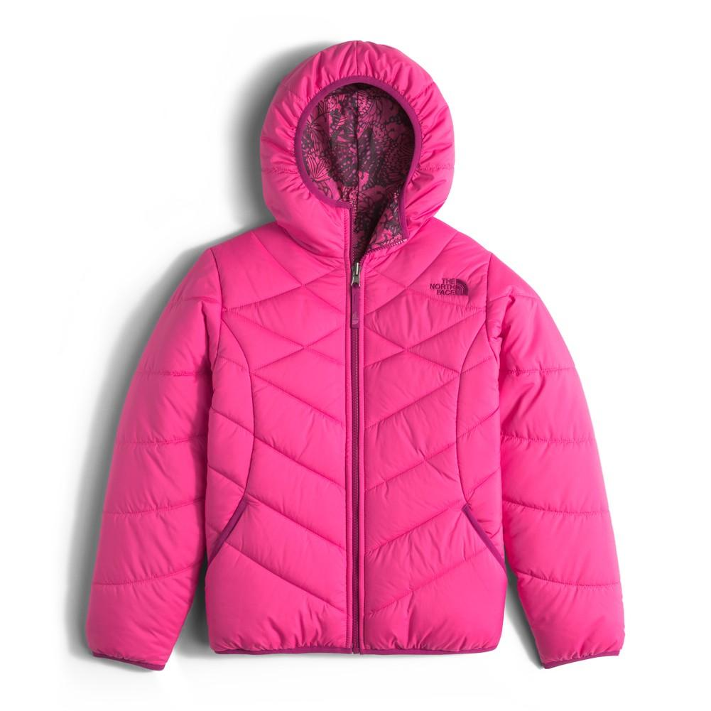 7f0d00e96a77 The North Face Reversible Perrito Jacket Girls  Cabaret Pink ...