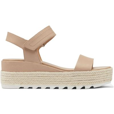 Sorel Cameron Flatform Leather Sandals Women's