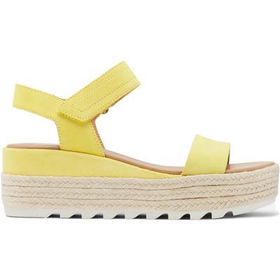 Sorel Cameron Flatform Suede Sandals Women's