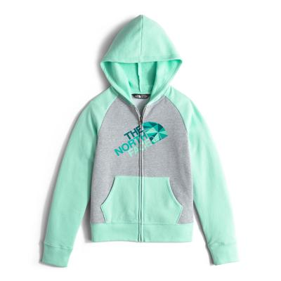 The North Face Logowear Full-Zip Hoodie Girls'