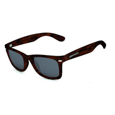 Peppers Sweet Sunglasses Fluorescent Green Fade - Brown Polarized / Emerald Green Mirror