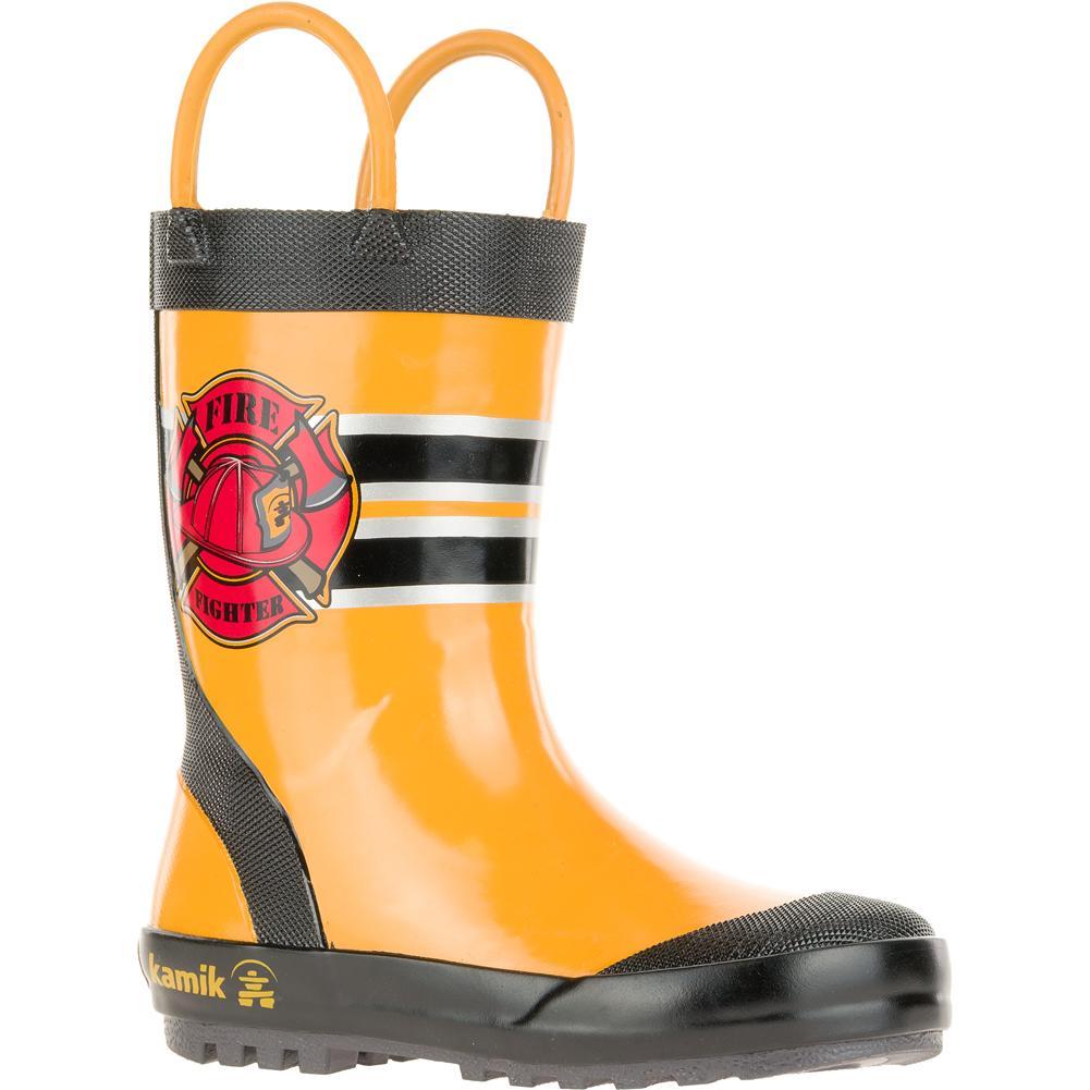 Kamik Boots Fireman Rain Boots Little Boys '