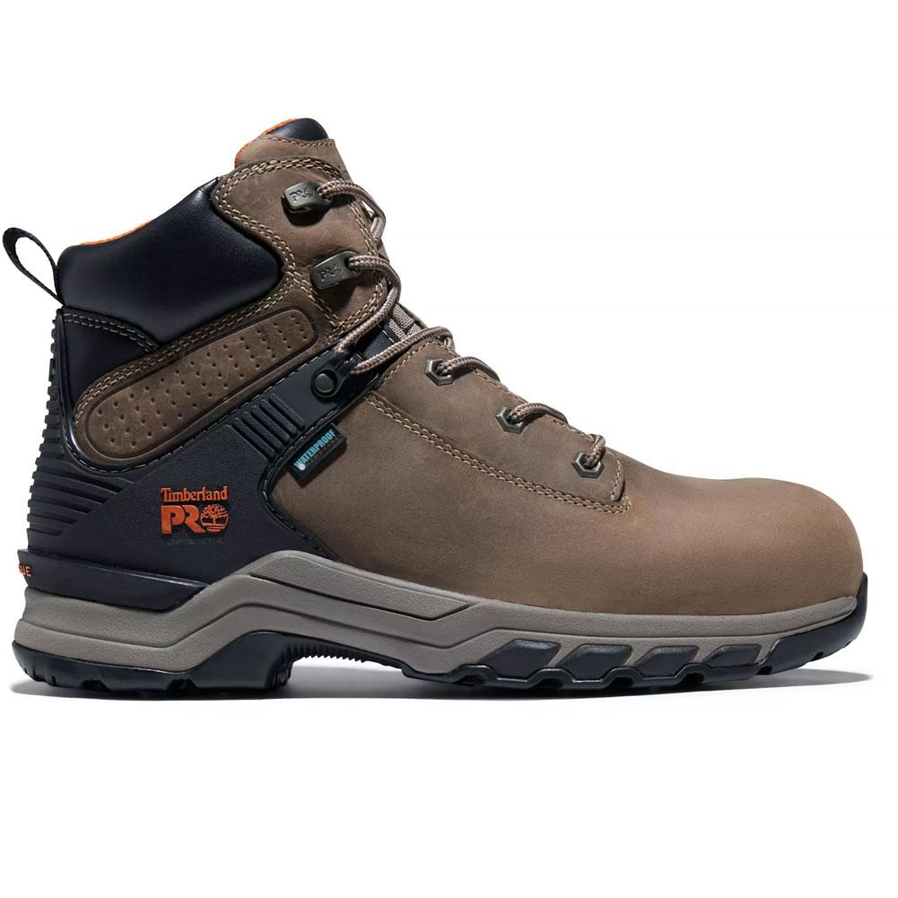 Timberland Pro Hypercharge 6 Inch Waterproof Composite Toe Work Boots Men's