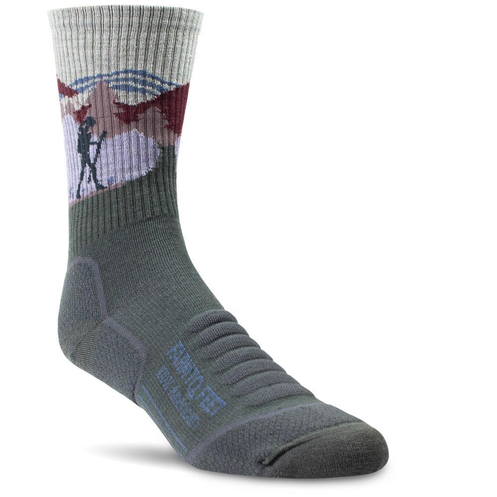 Farm To Feet Blue Ridge Lightweight 3/4 Crew Hiker Socks