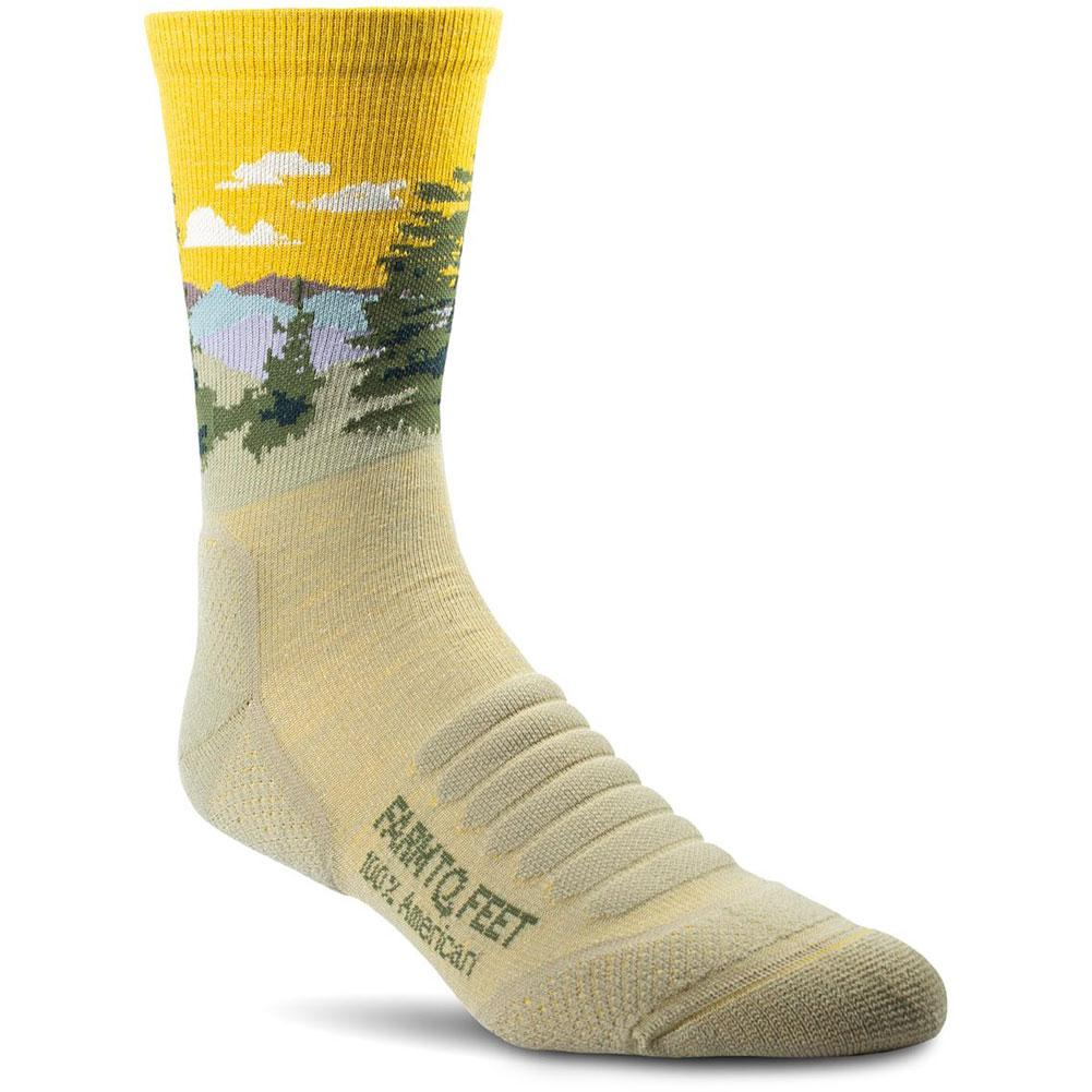 Farm To Feet Cascade Locks Lightweight 3/4 Crew Socks