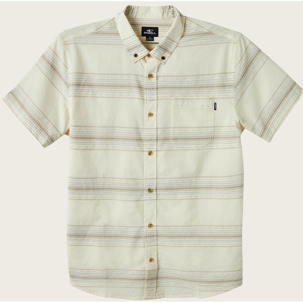 O ' Neill Crestmont Short Sleeve Button- Up Shirt Boys '
