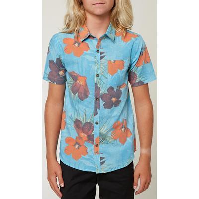 O'Neill Bluster Short Sleeve Button-Up Shirt Boys'