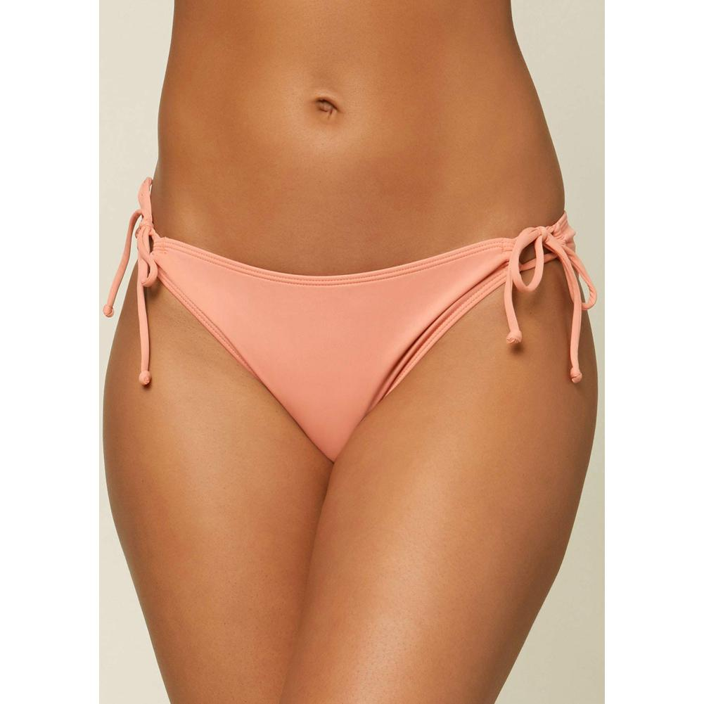 O ' Neill Mina Saltwater Solids Side Tie Full Bikini Bottoms Women's