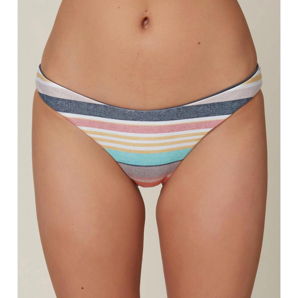 O ' Neill Rockley Cruz Stripe Revo Classic Bikini Bottoms Women's