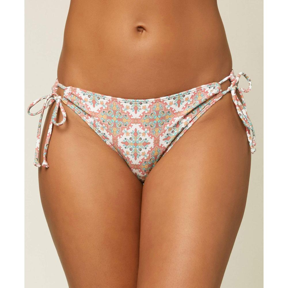 O ' Neill Mina Alexa Tile Side Tie Full Bikini Bottoms Women's