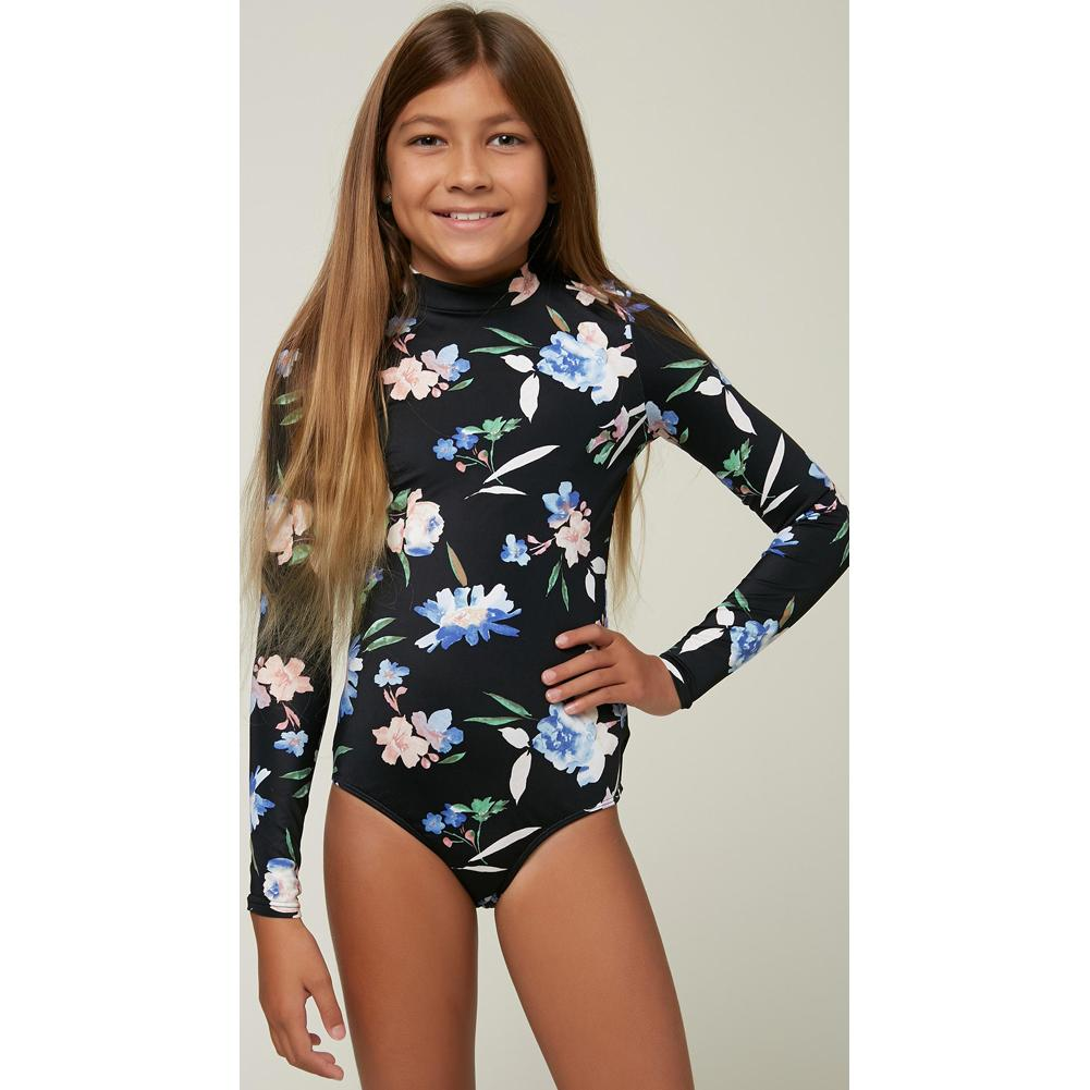 O ' Neill Seabright Ls Surf Suit Girls '