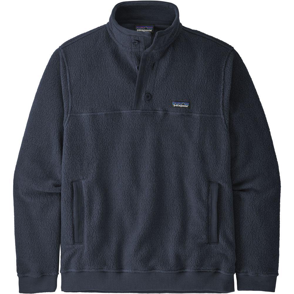 Patagonia Shearling Button Pullover Fleece Men's