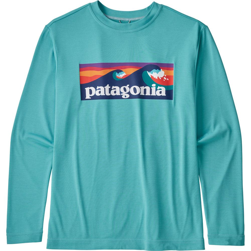 Patagonia Long- Sleeve Capilene Cool Daily T- Shirt Boys '
