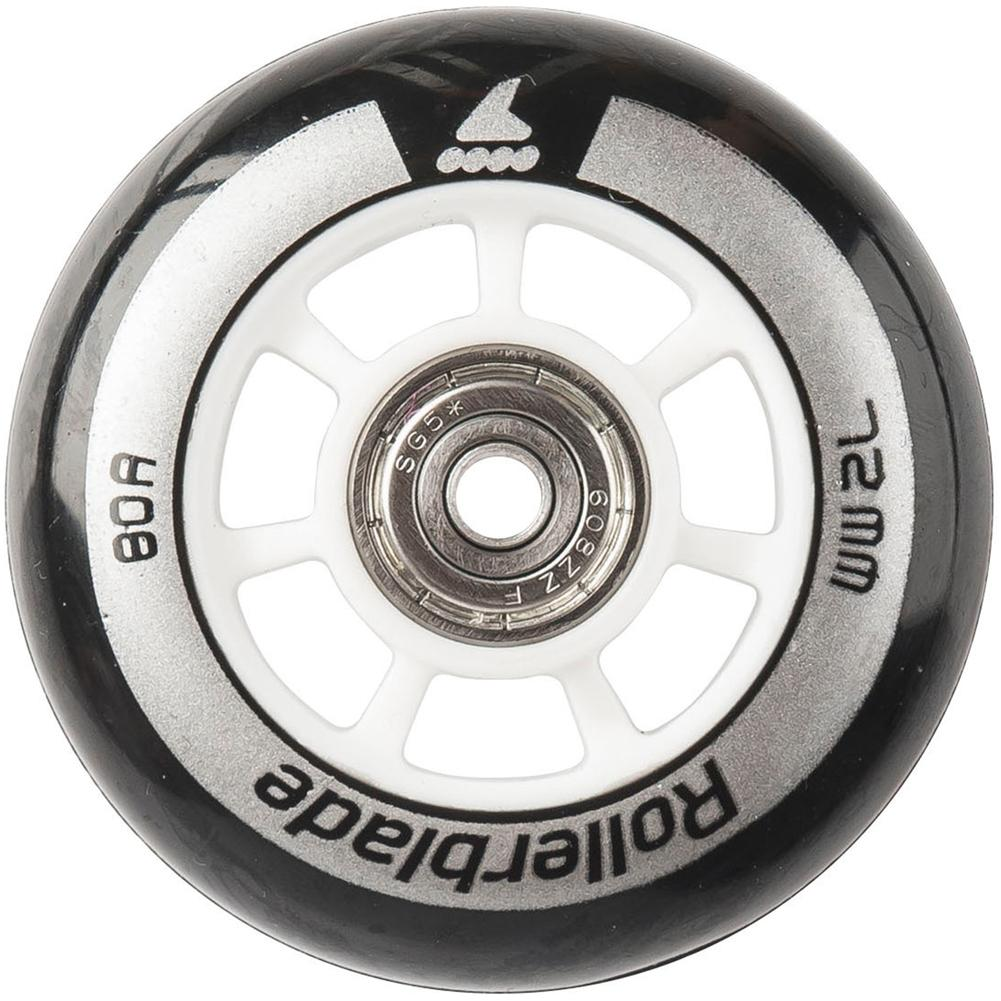 Rollerblade Wheel Kit 72mm/80a With Sg5 Bearings