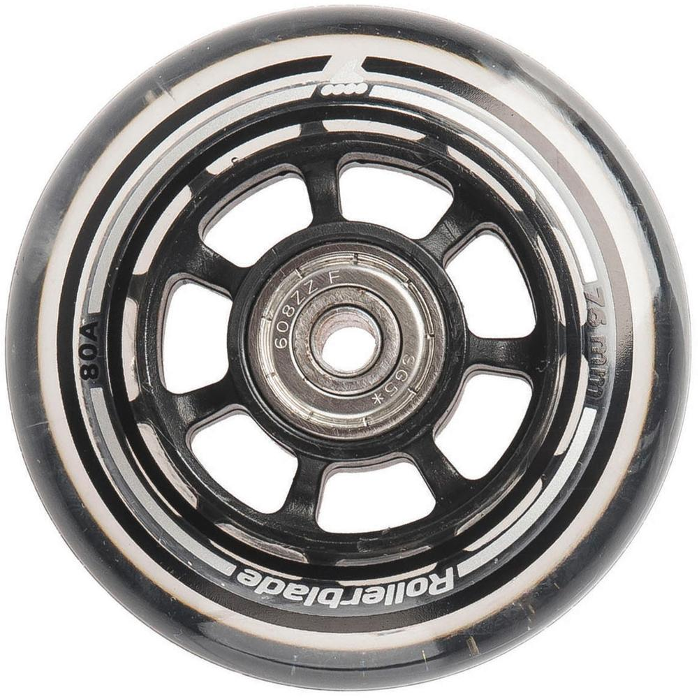 Rollerblade Wheel Kit 76mm/80a With Sg5 Bearings