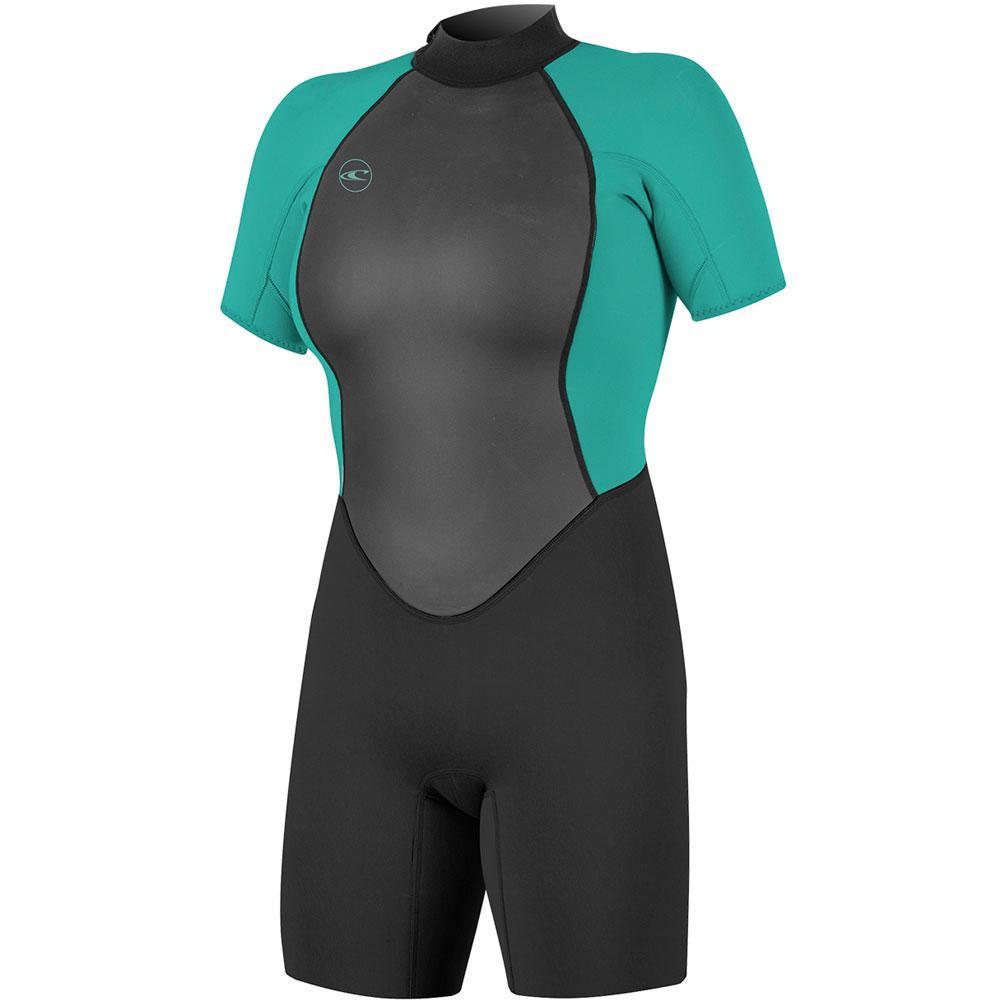 O ' Neill Reactor- 2 2mm Back Zip Short Sleeve Spring Wetsuit Women's