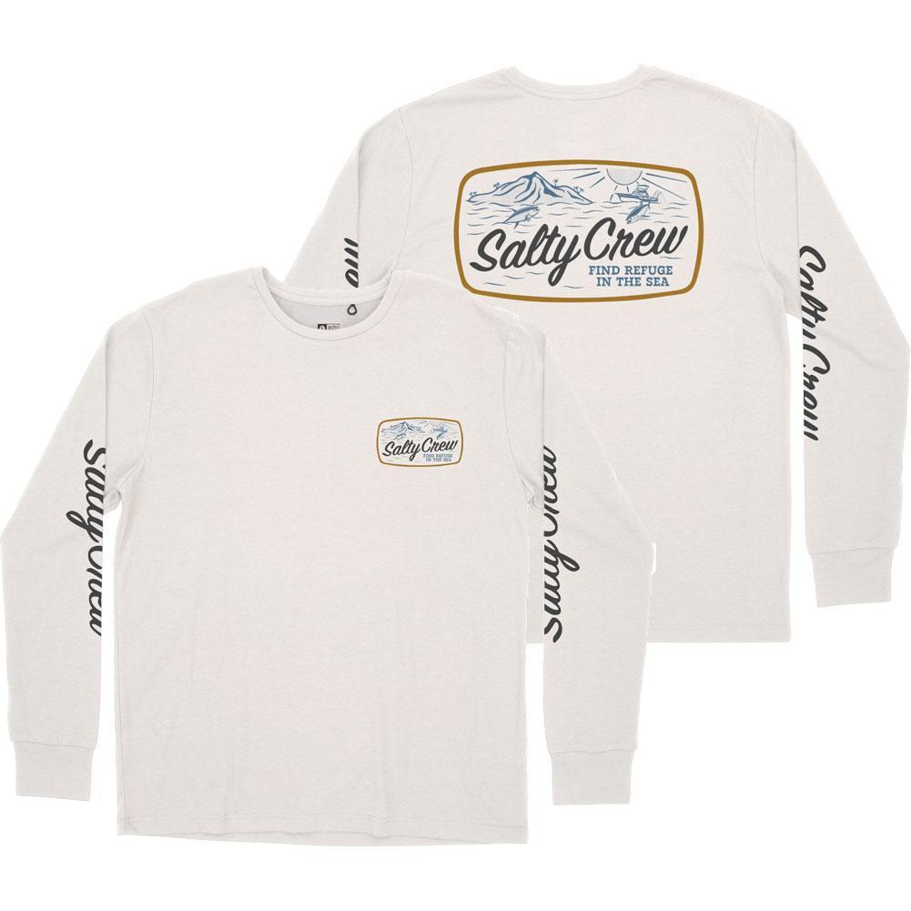 Salty Crew Tuna Isle Long Sleeve Tech Tee Men's