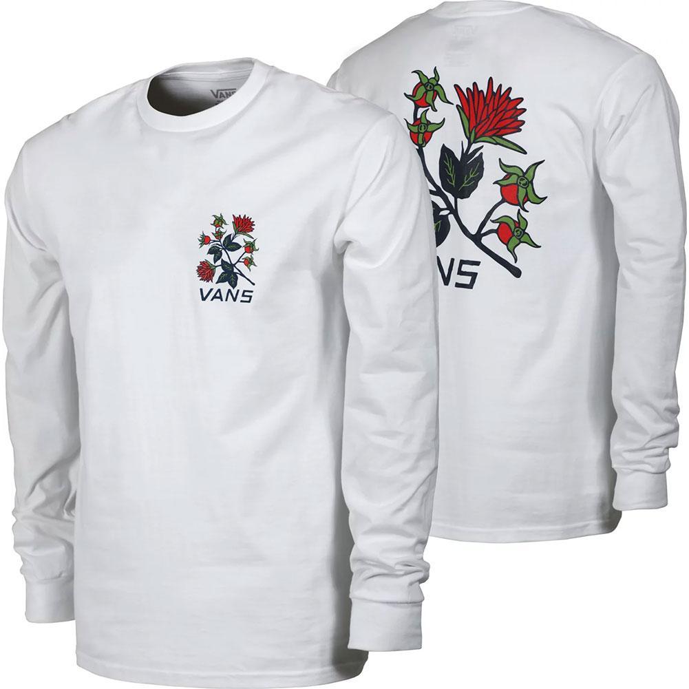 Vans Low Point Floral Long Sleeve T- Shirt Men's