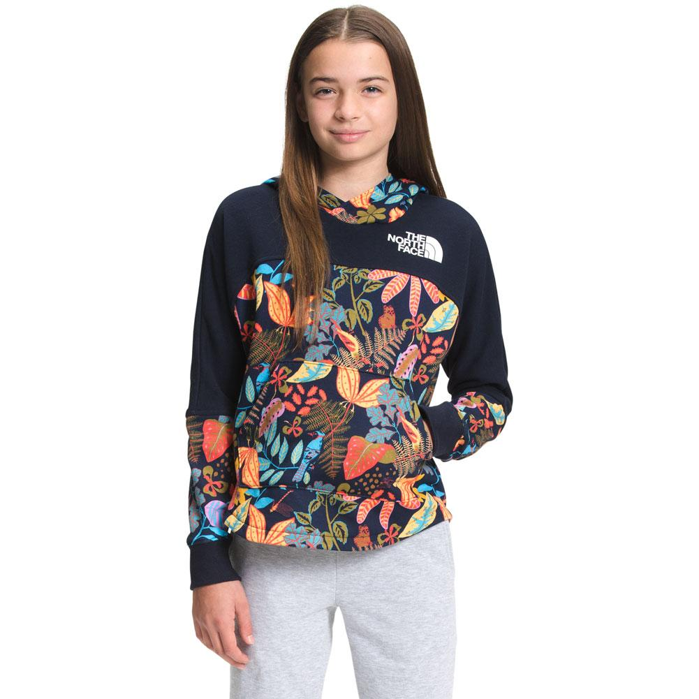 The North Face Street Logo Pullover Hoodie Girls '
