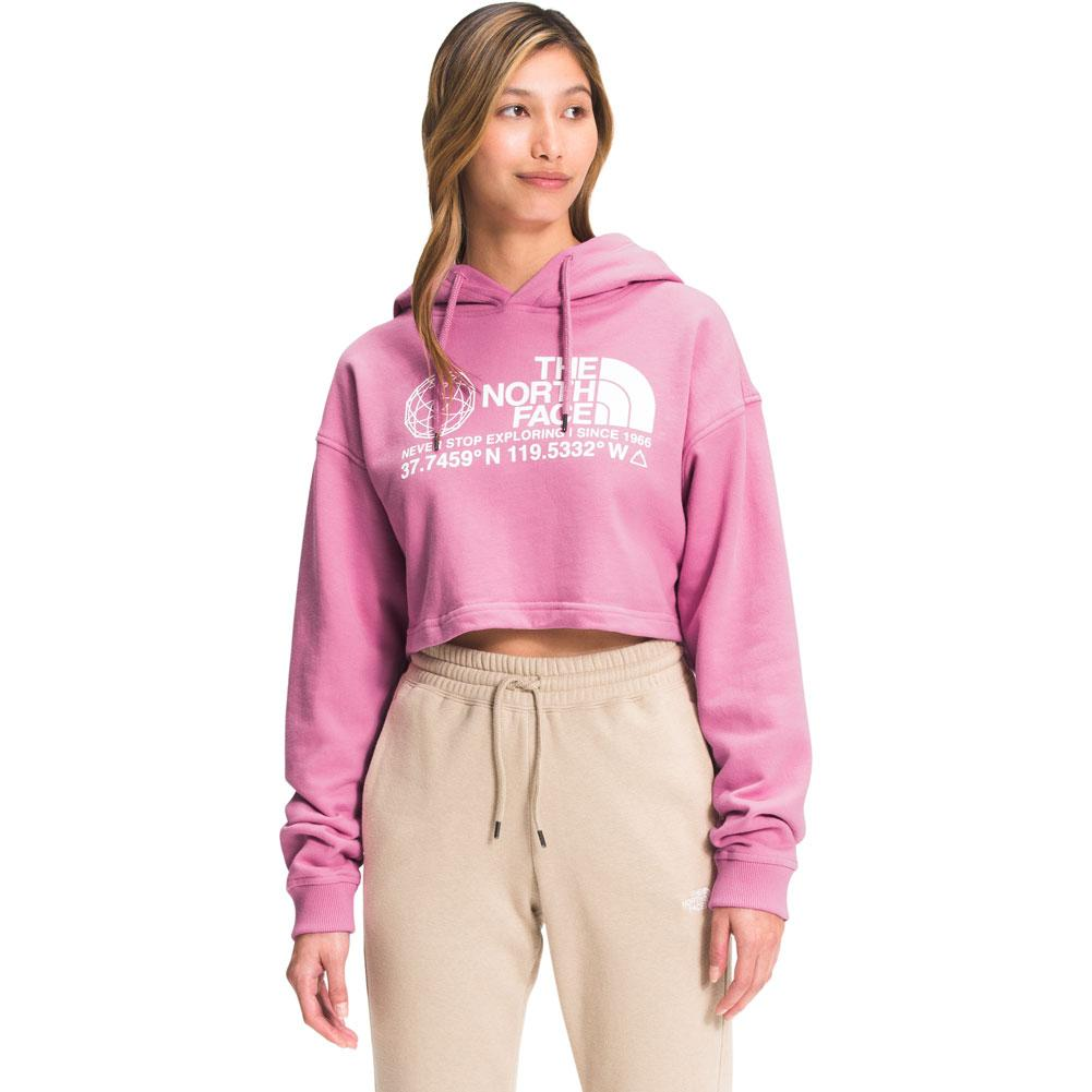 The North Face Coordinates Crop Drop Pullover Hoodie Women's