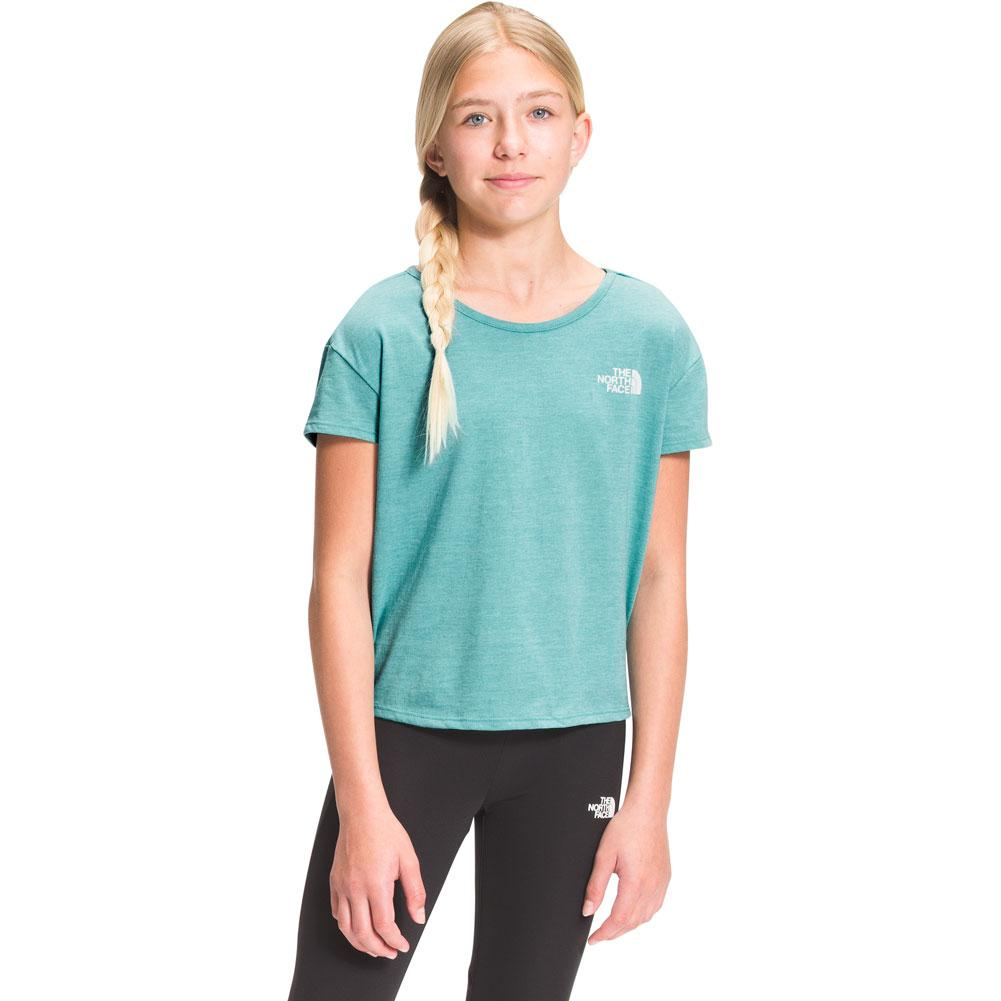 The North Face Tri- Blend Short Sleeve Tee Girls '