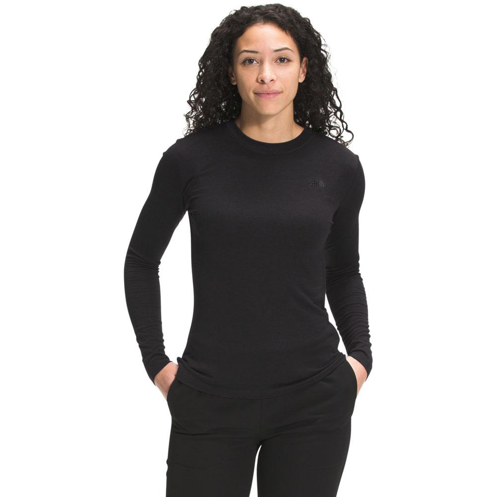 The North Face City Standard Recycled Wool Long Sleeve Top Women's