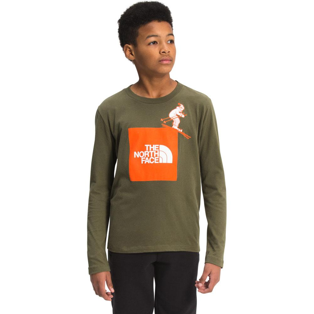 The North Face Graphic Long Sleeve Tee Boys '