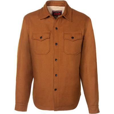 Schott Wool Blend Faux Sherpa Lined CPO Shirt Men's