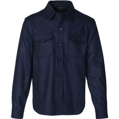 Schott CPO Wool Shirt Men's