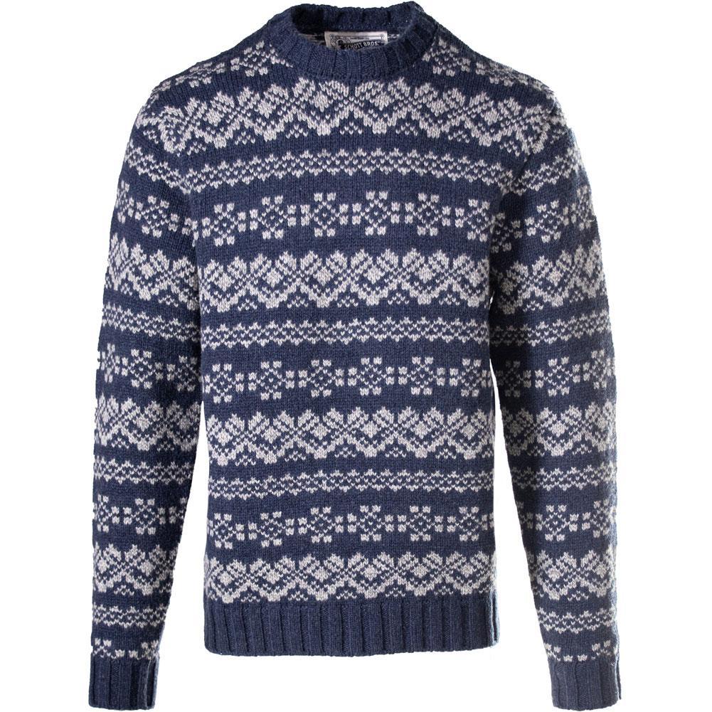 Schott Beckett Wool Blend Icelandic Sweater Men's