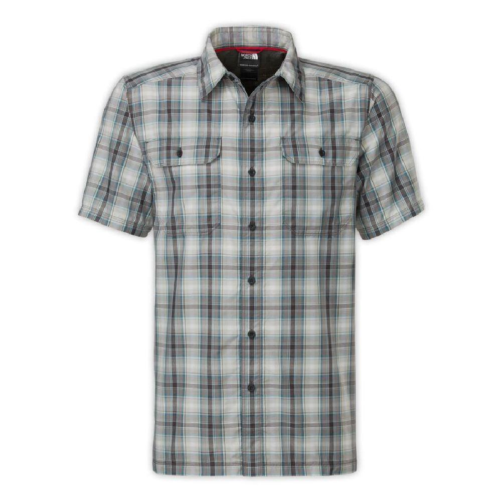 The North Face Short Sleeve Pine Knot Woven Flannel Shirt Men S
