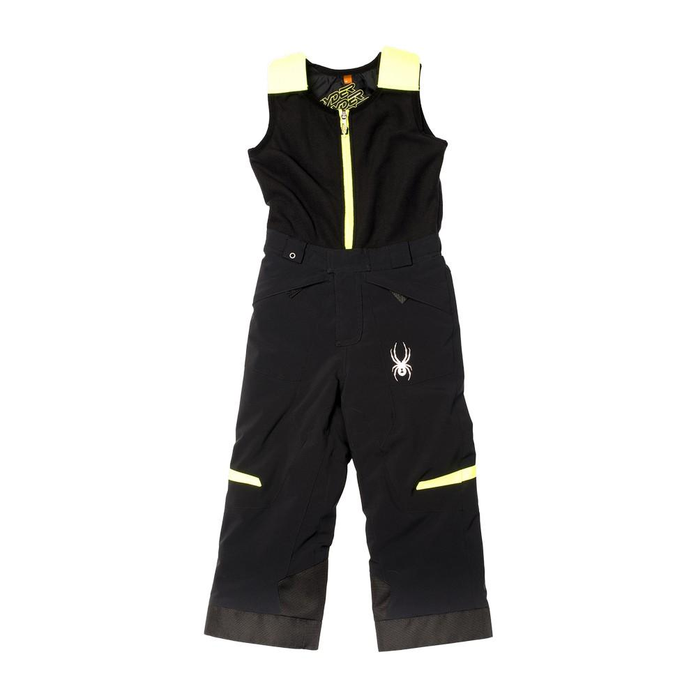 bc416551a Spyder Mini Expedition Pant Toddler Boys' Black/Bryte Yellow ...