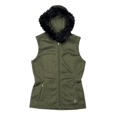 Spyder Major Hoody Cable Core Sweater Vest Women's