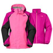 The North Face Kira Triclimate Jacket Girls' Luminous Pink