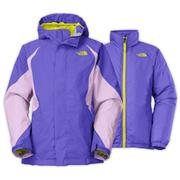The North Face Kira Triclimate Jacket Girls' Starry Purple