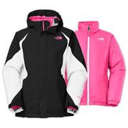 The North Face Kira Triclimate Jacket Girls' TNF Black