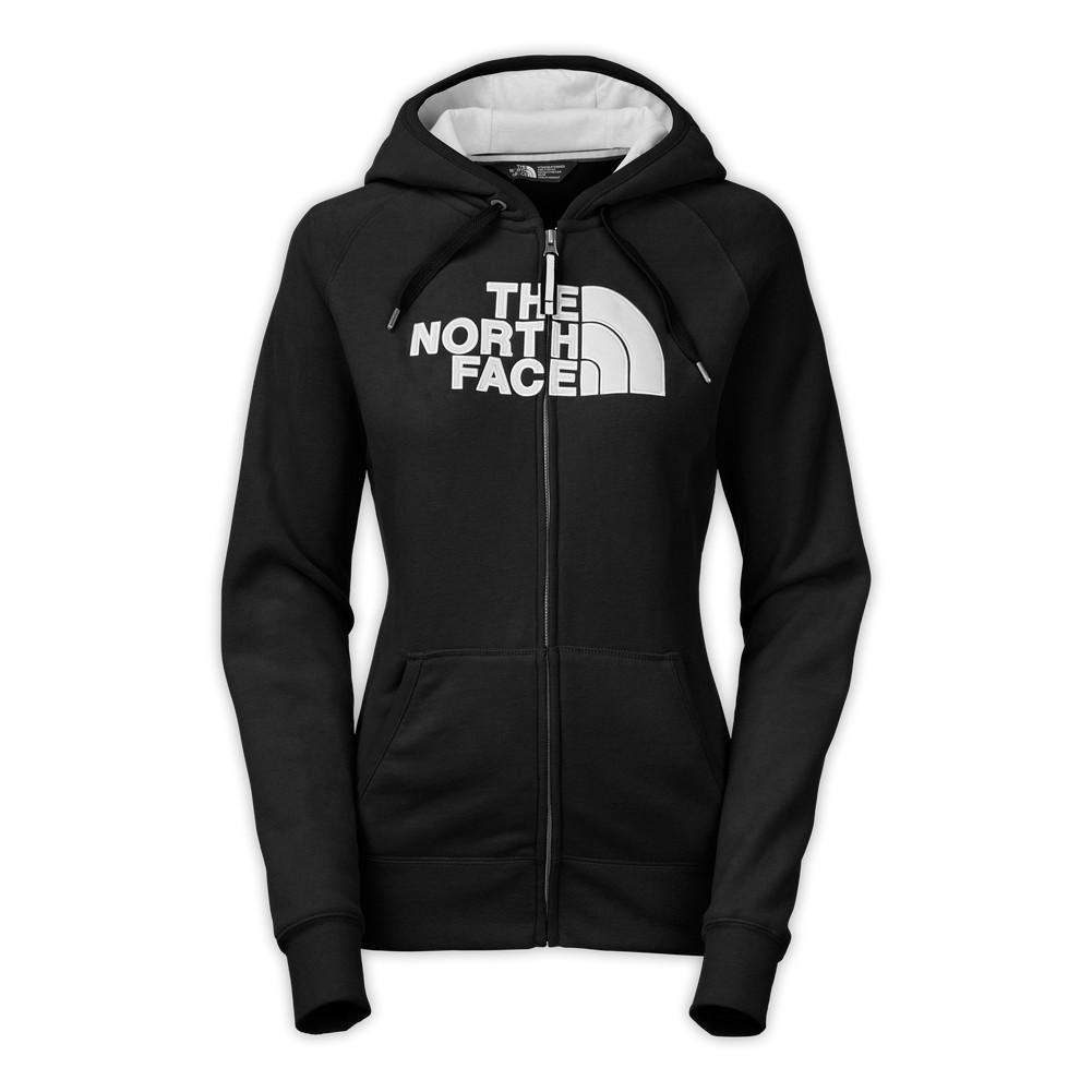 d7141b57d The North Face Avalon Full-Zip Hoodie Women's TNF Black/TNF White